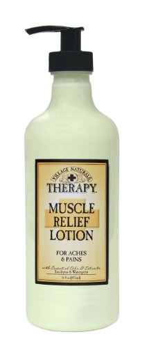 Review Of The Village Company Muscle Therapy Relief Natural Lotion, 16 Ounce- Packaging May Vary