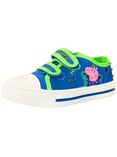 Peppa Pig Zapatillas Deportivas para Niños George Pig Azul 24
