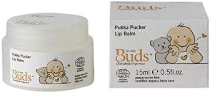 BUDS Pukka Pucker Nashville-Davidson Mall Lip Balm 15ml Max 89% OFF Amount on Healthy Lips Baby's an