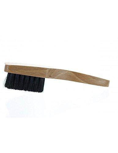 Alta Pelle–Spazzola pelle–Piccola spazzola per pulire i Cuirs, trasparente, Piccolo