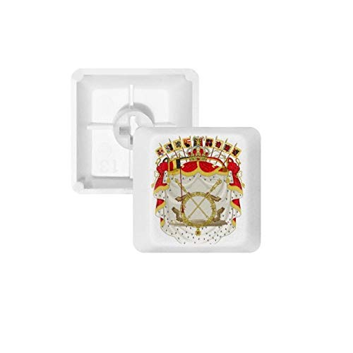 DIYthinker België Nationaal Embleem Land Pbt Keycaps Voor Mechanisch Toetsenbord Wit Oem Geen Markering Print R1 Multi kleuren
