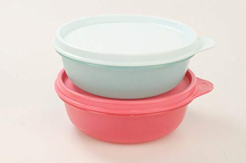 TUPPERWARE Kühlschrank Hit-Parade 300 ml mint + rot