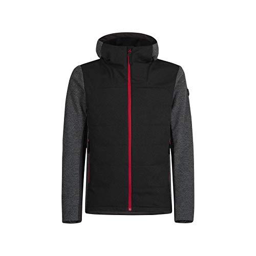 MONTURA Giacca parzialmente Imbottita Softshell Natural Stretch Misto Lana Wool Tradition Hoody Jacket (M)