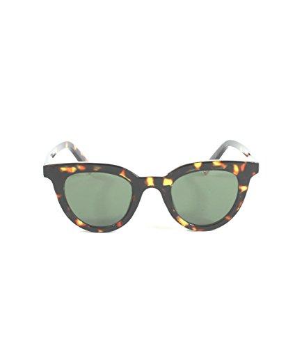 Owl Gafas de sol ROSEVILLE chica mujer Avispada pasta carey moda 2018 Protección Solar (carey, marrón)