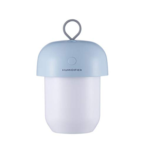 SUNHAO Humidificateur Mini USB humidificateur avec Batterie veilleuse Portable humidificateu