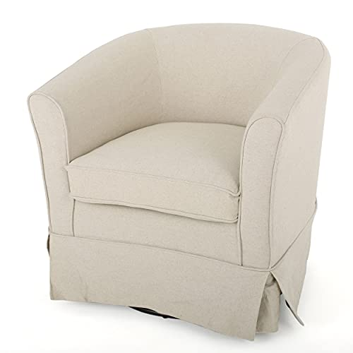Christopher Knight Home Cecilia Swivel Chair with Loose...