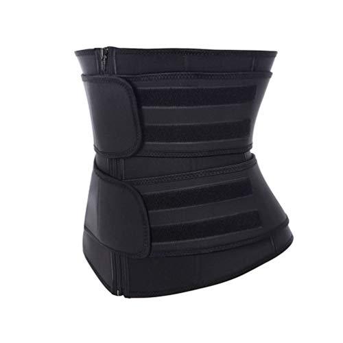 GARNECK Faja Recortadora de Cintura para Mujer Entrenador de Sudor Cinturón Entrenamiento Adelgazamiento Fajas del Cuerpo Abdominal Fitness Quemagrasas Tamaño 3XL
