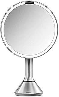 "simplehuman ST3200 8"" Round Sensor Mirror w/ 5x/10x Magnification"