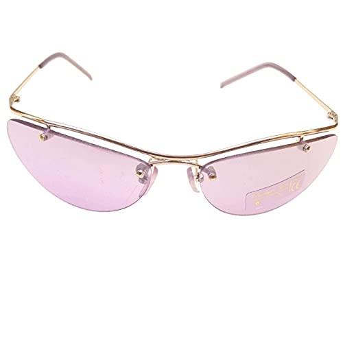 CHRISTIAN GAR Gafas De Sol Para Mujer Montura De Metal Color Plateado