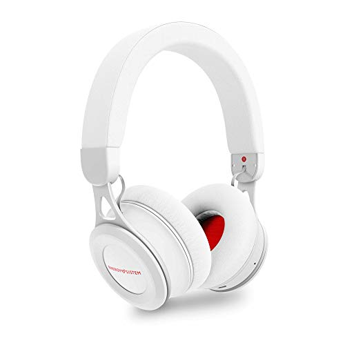 Energy Sistem Headphones BT Urban 3 White Auricular inalambrico (Deep Bass, Bluetooth, Metal finishes, Long-Life Battery) Blanco