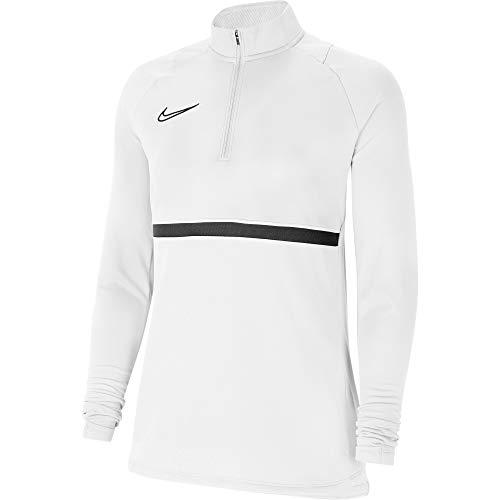 NIKE Women's Academy 21 CV2653-100 - Camiseta para Mujer (Talla XL), Color Blanco, Negro y Negro