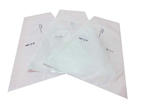 ぶどう 三角袋 特大透明 100枚入 (紙、セロハン) シャインマスカット、瀬戸ジャイアンツ、ゴルビー、赤、緑大房ぶどう用