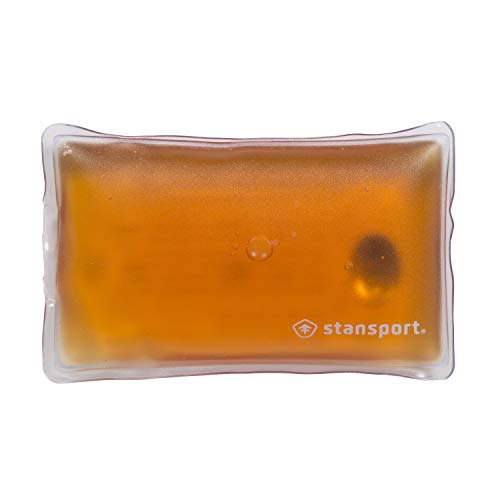 "Reuseable Gel Hand Warmer, Orange, 5.25"" L x 3.25"" W x 1"" H (626)"