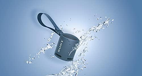 Sony SRS-XB13 - Altavoz Bluetooth Compacto, Duradero y Potente con EXTRA BASS (Resistente al agua, Inalámbrico, 16h Autonomía), Azul