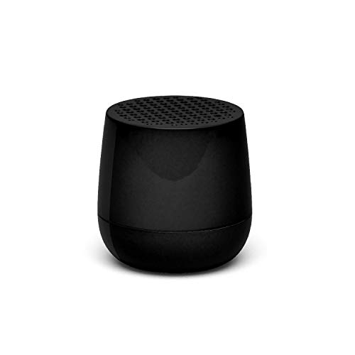 Lexon MINO - Ultra Portable Bluetooth Speaker & Selfie Remote - Rechargable (Glossy Black)