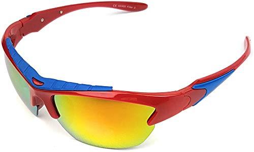 Sportsolglasögon med UV400 solskydd bilkörning hjul löpning sport fritid sommar strand – Sun Glasses Lunettes Soleil Gafas Sol