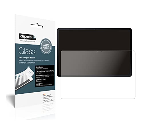 dipos I Protector de Pantalla Mate Compatible con Samsung Galaxy Tab S7 FE Vidrio Flexible Cristal Proteccion 9H