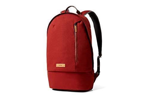 Bellroy Campus Backpack, Slim Unisex Laptop Backpack (16 liters, 15' Laptop) - Red Ochre