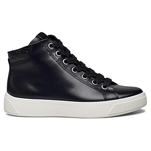 ECCO Zapatillas de mujer medianas Street Tray, Negro , 40 EU