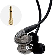 ADV. Model 2 Stage in-Ear Monitor Earphones Musician IEM Recording Performance Headphones Memory Wire Sweatproof Secure-Fit [Live Edition]