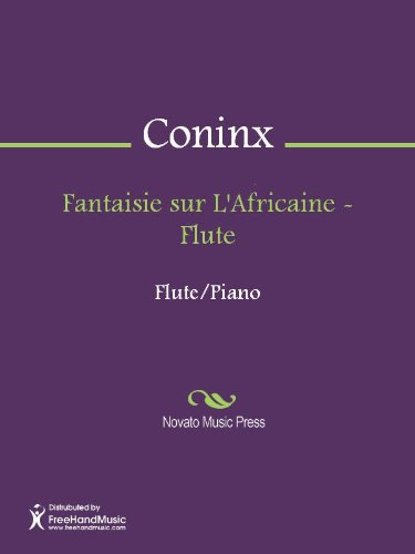 Fantaisie sur L'Africaine - Flute (English Edition)