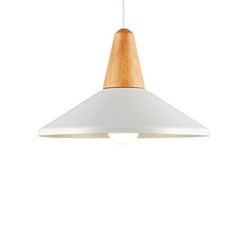 CHNOI Chandelier- Retro rústico Lámparas de Techo Colgante de Aluminio Blanco Colgando de iluminación de la lámpara por Salón Dormitorio Decoración