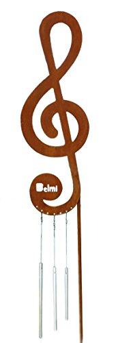 Gartenstecker Violinschlüssel / Notenschlüssel - Schönes Geschenk für Musiker