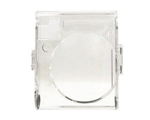 DSstyles Estuche para cámara para Instax Mini 70 Estuche rígido Protector Transparente Crystal Case con Correa para el Hombro Gratis para Fujifilm Instax Mini 70