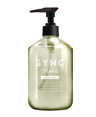 シャンプーメンズ 【 いい匂い の メンズシャンプー 】 SYNC men's スカルプシャンプー 「 アミノ酸シャンプー で メンズ の スカルプ ケア」「 シャンプー で 男性 の 頭皮 を洗浄」「 ふけ かゆみ を抑え ボリュームアップ 」300ml