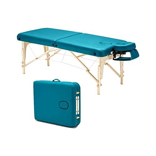 WGLL Tabla de Masaje de Espuma de Memoria para el hogar - Configuración fácil: Plegable y portátil con Estuche de Transporte, Verde