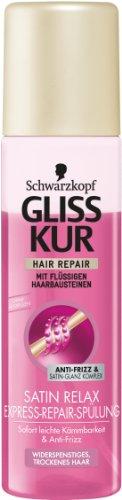 Gliss Kur Express-Repair-Spülung Satin Relax 2er Pack (2 x 200 ml)
