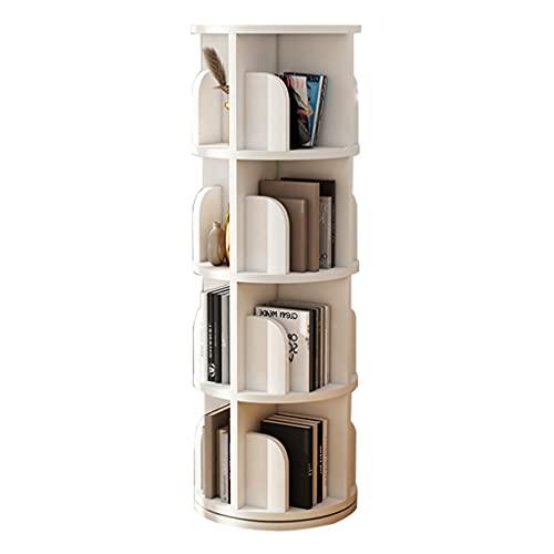 Draaibare boekenplank eenvoudige 360 graden studentenboekenplank voor kinderen eenvoudige boekenplank in de…