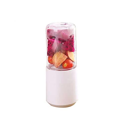 LUOYANFA Exprimidor portátil, mini exprimidor eléctrico, exprimidor inalámbrico para el hogar, adecuado para la oficina, al aire libre, hogar (color: rosa)