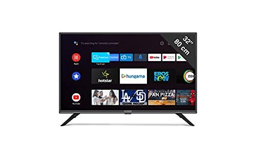 Schneider - Smart TV 32' LED32SC400ATV, Android TV, Wifi, Mirroring, Timeshift, HDMI, Negro