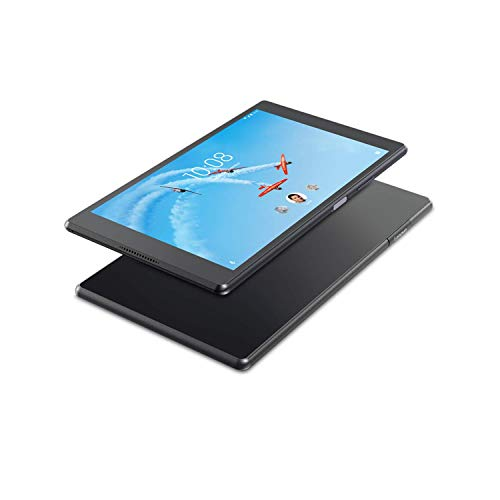 Lenovo Tab 4, 8in Android Tablet, Quad-Core Processor, 1.4GHz, 16GB Storage, Slate Black, ZA2B0009US (Renewed)
