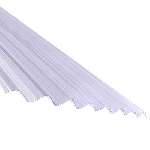 3m Plastic Corrugated Roof Sheet Corrapol PVC Roofing Shed Garage Barn Lean-to