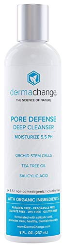 Natural Acne Wash Facial Blemish and Pimple Treatment - Deep Cleanser and Pore Minimizer - All Natural and Organic - Pimple Relief - Unclogs Pores for Clear Skin - For Women and Men (8oz)