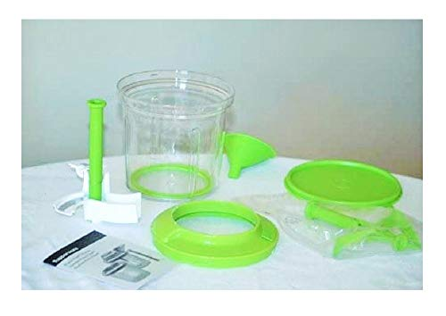 Tupperware Power Chef Accessories Set, for use with Chop N Prep - Green