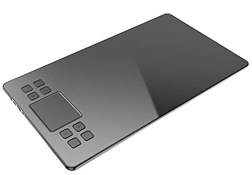 Xyfw Tableta De Dibujo A50 con Tableta De Pantalla De Alta Definición para Dibujar Tableta Gráfica Y Juego De Lápiz Táctil De Sensibilidad