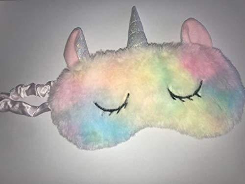 Slaapmasker Unicorn eenhoorn slaapmasker oogmasker regenboog