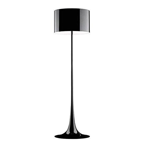 Flos Spun Light F Lampe de sol noire brillante