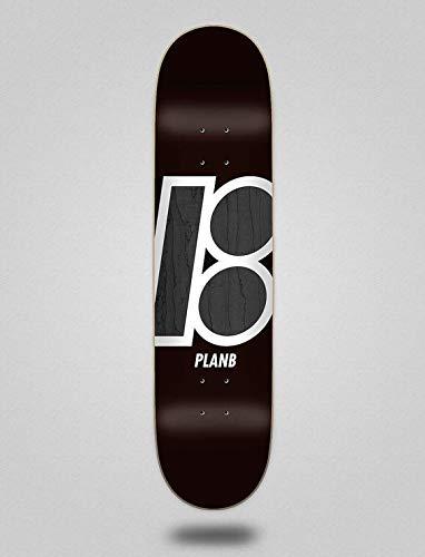 lordofbrands Monopatín Skate Skateboard Deck Plan B Team Stain 7.75