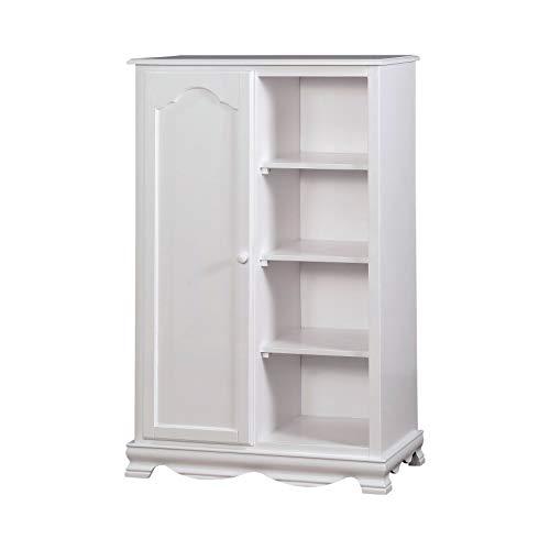 Buy Bargain 247SHOPATHOME Rossa Closet Storage, White