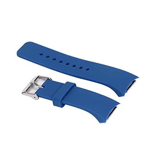 LLKHFA BEHUA Reloj la Correa para el Equipo de Samsung S2 RM-720 Sport Soft Silicone Smart Muñequeras para el Equipo de Samsung S2 SM-R720 Correa de reemplazo