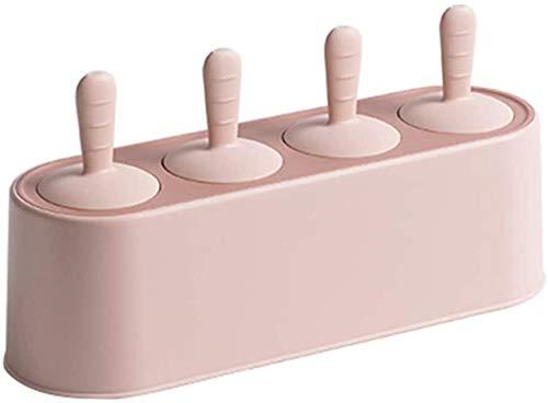 N\A 1pc Sorbetières Rose Popsicle Silicone Idéal for Moisissures Party Facile à enlever réutilisable (Color : -, Size : -)