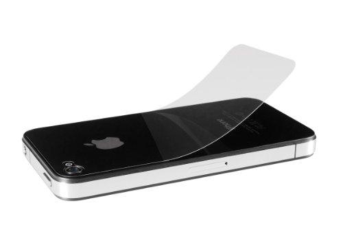 Artwizz ScratchStopper Back Schutzfolie für iPhone 4/4S: 2x Transparente Rückseiten-Schutzfolie