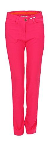 MAXX Golf Hose Mädchen mit verstellbaren Bund (pink, 152)