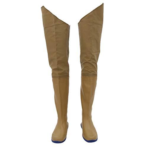 LSZHXL Pantalones de vadeo de Pesca Impermeables Pantalones de Botas de vadeo Monos de Trabajo Pantalones de Pesca al Aire Libre Zapatos río Arriba 41-44
