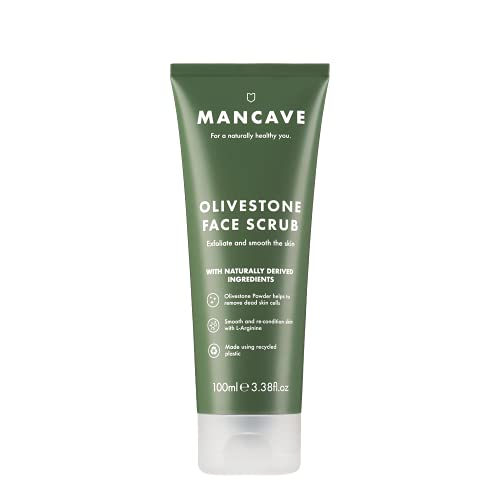 ManCave Olivestone Face Scrub 100 ml (Packaging May Vary)