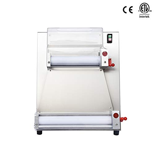CHEF PROSENTIALS 110 Volt Electric dough sheeter 18 inch dough roller machine Stainless steel kneader pizza maker